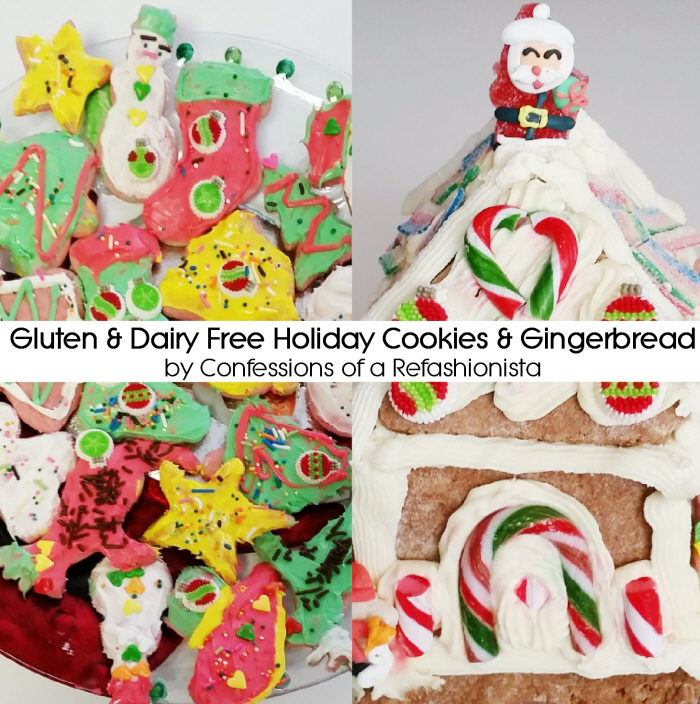 Gluten & Dairy Free Holiday Cookies & Gingerbread Recipes