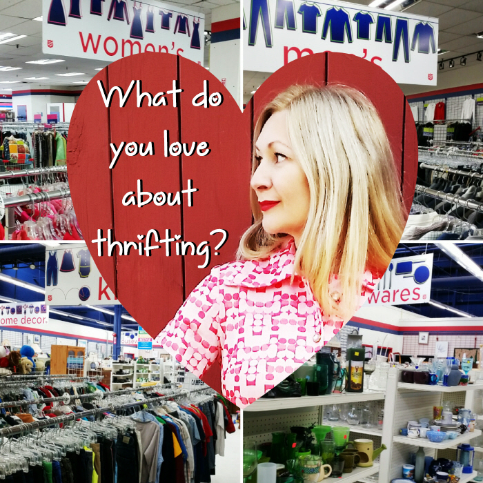 What do you love about thrifting?