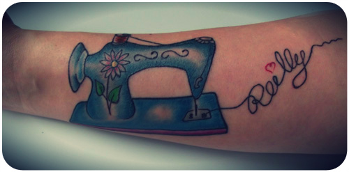 More Fresh Ink Another Sewing Themed Tattoo Confessions Of A