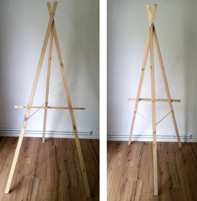 my diy adjustable easel confessions of a refashionista