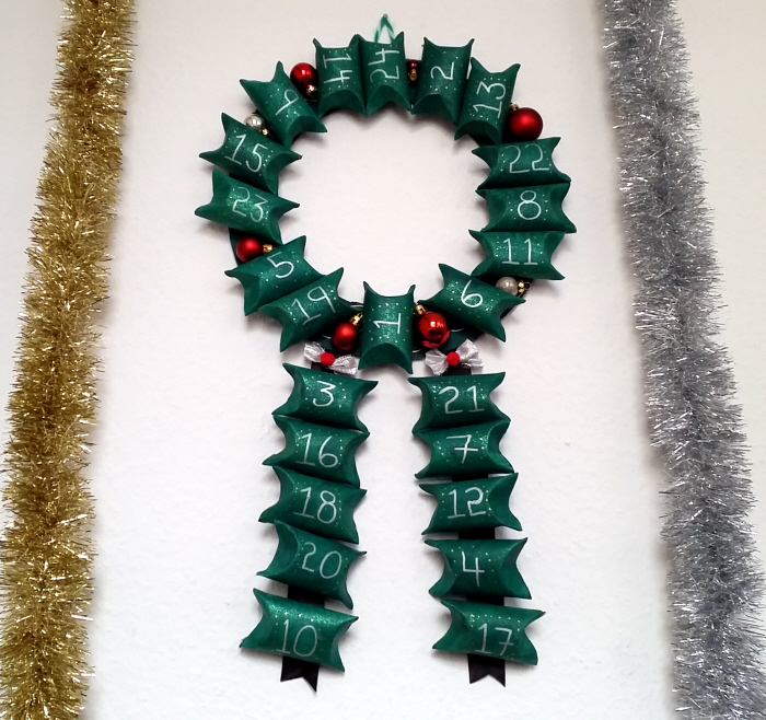 toilet paper roll advent wreath my easy upcycled diy advent calendar wreath confessions 7254