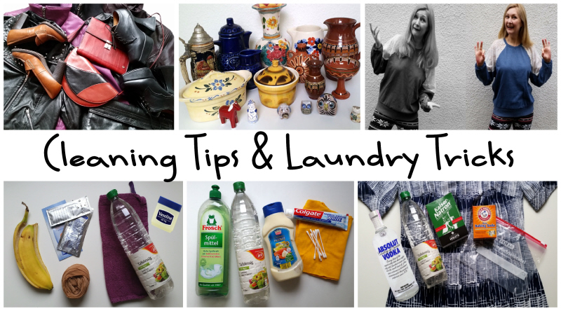 Cleaning Tips and Laundry Tricks