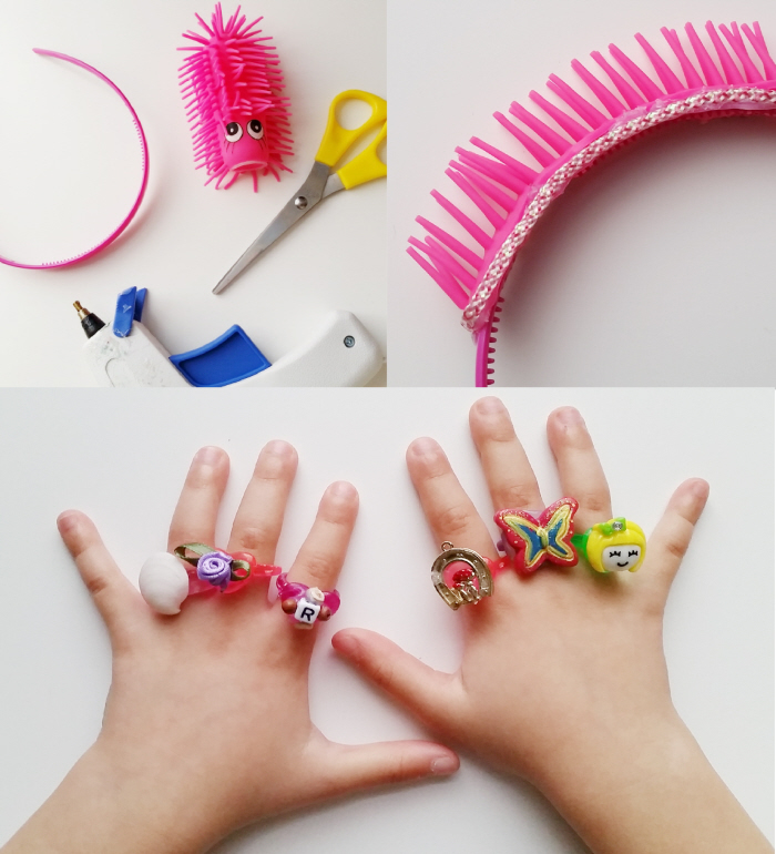 Upcycled DIY Kiddo Accessories