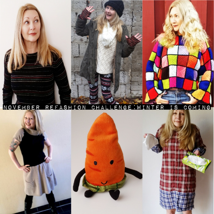 November Refashion Challenge: Winter is Coming